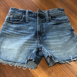 Madewell shorts size 23 NWT